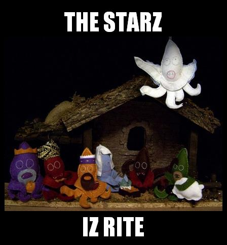 THE STARZ IZ RITE